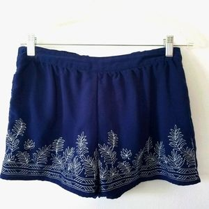 2/$15 MINE Embroidered Soft Shorts